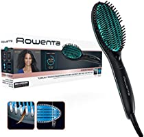 Rowenta CF5820 Power Straight Cepillo especial para cabello rizado, con generador de iones y temperatura regulable hasta...