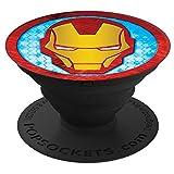 PopSockets Marvel Iron Man Icon - Funda con Soporte para Smartphones y Tablets
