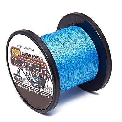 40/0.3/0.5mm for 80lb 500M braid fishing line Nylon Lure Trolling White/Green/Blue