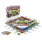 """Monopoly: Star Wars Das Kind Edition, Brettspiel für Familien und Kinder ab 8 Jahren, mit dem Kind, das Fans """"Baby Yoda"""" nennen"""