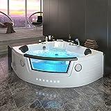 Bañera de esquina para 2 personas, de Whirlpool