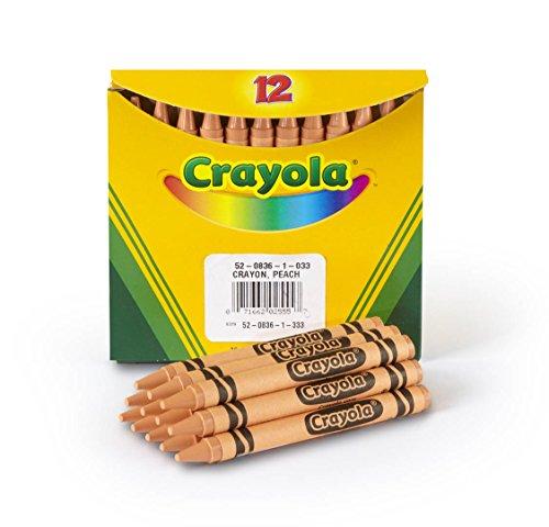 Crayola Crayons In Peach, Bulk Crayons,12 Count (5208361033)