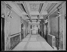 Vintography 16 x 20 Ready to Hang Canvas Wrap Detroit Michigan Temple Theatre Entrance 1903 Detriot Publishing 21a