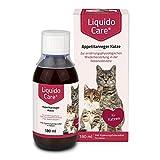 LiquidoCare Appetitanreger Katze 180 ml/Zur ernährungsphysiologischen Wiederherstellung, in der Rekonvaleszenz und bei hepatischer Lipidose der...