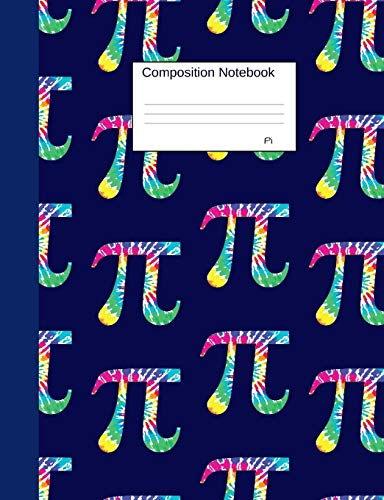 Pi Composition Notebook: Graph Paper 4x4 Blank Book to write in for school, take notes, for programmers, physics students, math teachers, homeschool,graffiti inspired Art Cover
