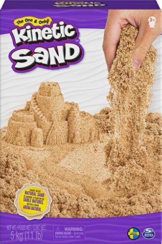 Kinetic Sand naturbraun Original Marrone Naturale 5 kg, Colore, 6060996
