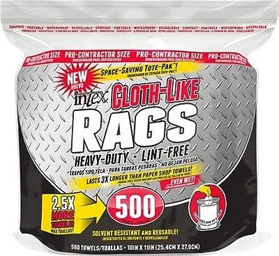 Intex Cloth-Like Rags, 500 count, 4 per case
