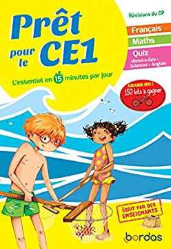 Pdf Pret Pour Le Ce1 Cahier De Vacances Revisions Du Cp