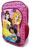Disney Princesse Filles Rose Sac à Dos Trolley de Luxe A Roulettes Valise Cabine Sac...