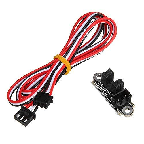 HYY-YY Monitor Power 1M 3Pin Sensor de límite de extremo óptico con cable para impresora 3D