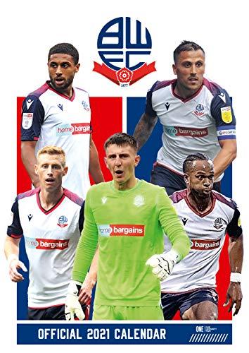 Official Bolton Wanderers 2021 Calendar - A3 Wall Format Calendar