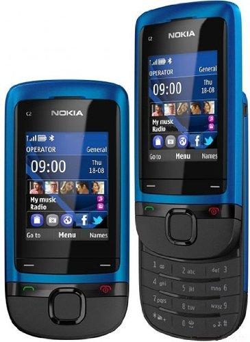 """Nokia C2-05 - Móvil libre (pantalla de 2"""", cámara 0.3 Mp) [Importado de Francia]"""
