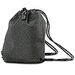drawstring locking bag
