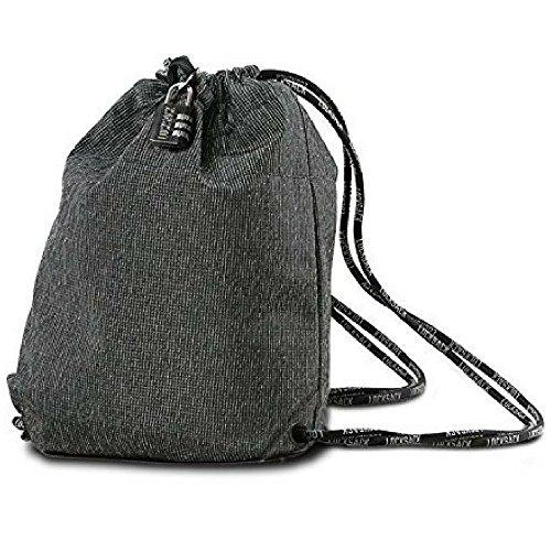 LOCKSACK - Diebstahlsichere Tasche mit Kordelzug – der perfekte diebstahlsichere Reiserucksack.
