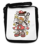 Cartoon Styled Blender Urban Banana Milkshake Small Shoulder Bag