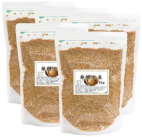 自然健康社 発酵玄米 1kg×5袋 チャック付き袋入り