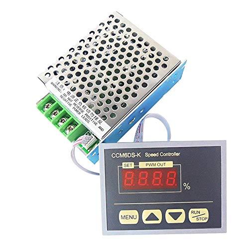 DC cheap 12V to 80V 30A PWM LED Digital Regular store Motor Speed Controller Disp