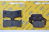 FRONT&REAR BRAKE PADS for BUELL 1998-2002 S1 X1 Lightning X1 Racing Stripe, 1998-2005 S3 S3T Thunderbolt M2 Cyclone (LD454 LD112)