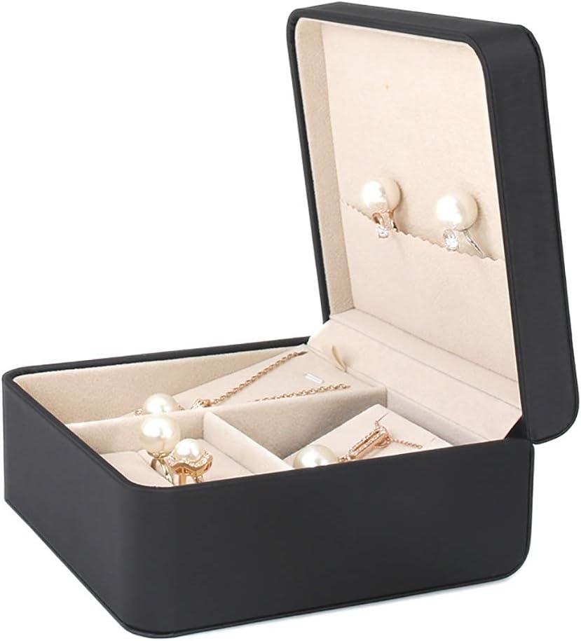 Small half Jewelry Box 40% OFF Cheap Sale Wedding Rings Storage Organizer Neckla