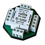 Rollra - Relais d'isolement R1-UNI (deux moteurs) pour simple / groupe central / moteur de volet roulant de commande de moteur de store contrôle commande