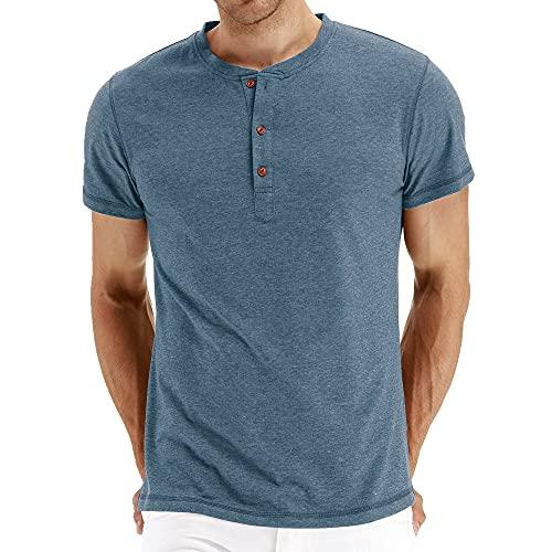 N\P Camiseta de manga corta para hombre - - Large