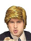 President Donald Trump Billionaire Synthetic Hair Men Wig