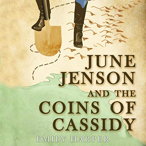 June Jenson and the Coins of Cassidy audiobook cover art