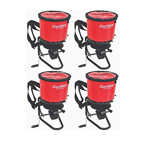 Why Choose Earthway Commercial Hand Crank Seed Fertilizer Salt Broadcast Spreader (4 Pack)
