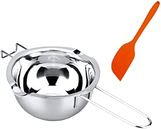 BEMINH Universal Double Boiler Baking Tool Melting Pot with Silicone Spatula, 18/8 Stainless