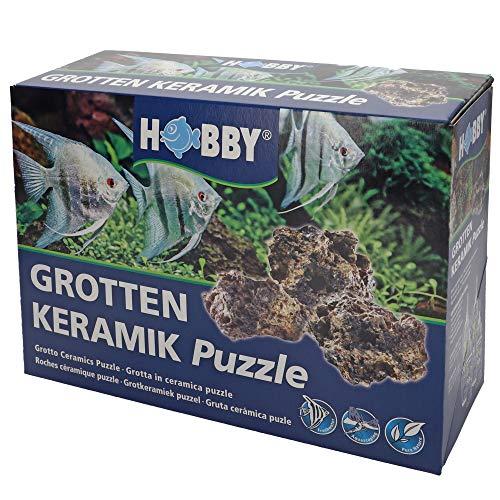 Hobby Puzzle Roche Grotte en Céramique pour Aquariophilie 1 kg