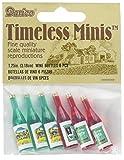 Darice 2306-15 Timeless Miniature Wine Bottles 6 Piece,Multicolor