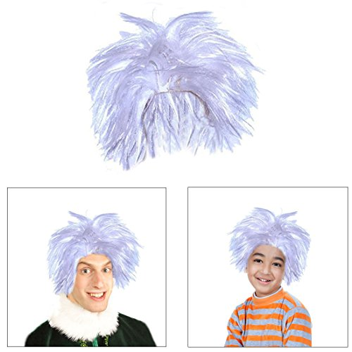 Dazzling Toys Soft Cotume Mad Scientist White Wig, Great for Dressing, Adjusts to Fit Adults and Chi - http://coolthings.us
