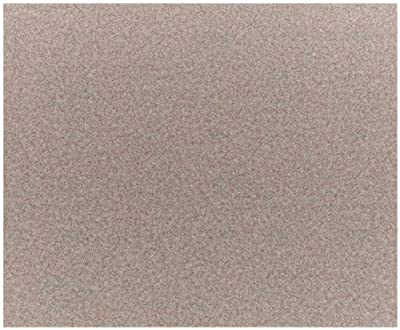 Norton A275 No-Fil Adalox Abrasive Sheet, Paper Backing, Aluminum Oxide, Waterproof, Grit 400 (Pack of 100)