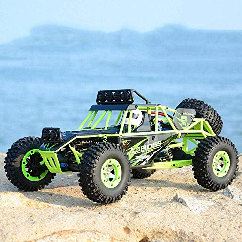 Darenbp Coche teledirigido 4WD 2,4 GHz RC Car 1: 12 Escala Camión Buggy orugas Vehículo de Todo Terreno 50 kmh de Radio de Alta Velocidad controlada Drift Racing Car for Niños Adultos Toy Model Cars