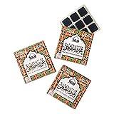 Oud Al Khaleeji Bakhoor - (3 bandejas x 9 piezas cada una) | para uso doméstico con quemador exótico bakhoor, quemador eléctrico o tradicional de carbón | perfecto para Namaaz, meditación, cantos