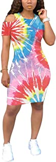 Women Maxi Dress Rainbow Striped Long Dresses Casual Loose Oversized Sundress Party Prom Ladies Outfits
