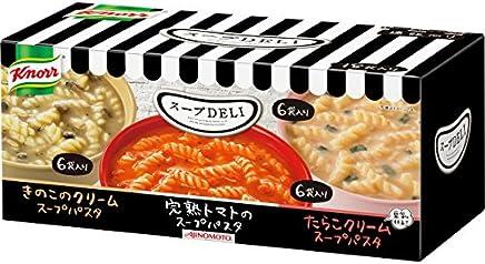クノール スープDELI バラエティボックス 18袋入 トマト/きのこ/たらこ