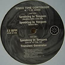Spacetime Continuum w / Terence McKenna - Speaking In Tongues - Astralwerks - ASW 6108
