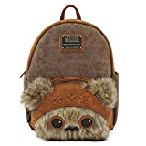 Loungefly Star Wars Ewok Faux Leather Mini Backpack Standard
