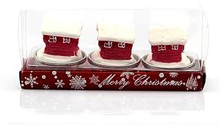 Schneemann Kerzen 6St Decokerzen, Weihnachten Teelicht Winter Advent