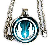 Star Wars inspired JEDI Necklace - the LIGHT - HM