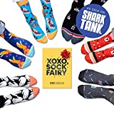 Fun Sock Subscription Box by Foot Cardigan - As Seen on Shark Tank - Sock of the Month Club Includes 1 Pair of Men's Socks a Month Makes a Great Gift