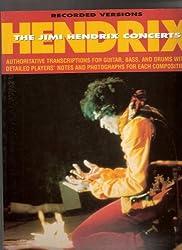 Partition : Hendrix Jimi Concerts Rec. Vers. Tab
