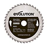 Evolution Power Tools–construire Rageblade255wood Evolution 255mm Bois Tête...