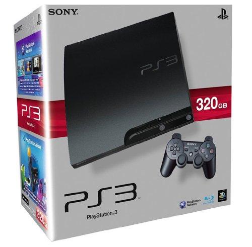 Console PS3 320 Go noire + Manette PS3 Dual Shock 3 - noire