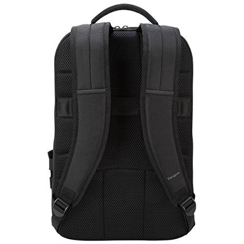Targus CitySmart Advanced Checkpoint-Friendly Rucksack für Laptops bis zu 39,6cm, schwarz, tsb894