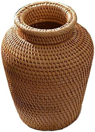 DUO ER Rattan Woven Vase Fashion Popular products Tabletop New Orleans Mall Decoration Pl Art