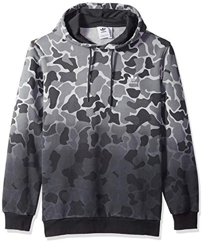 adidas Originals Men's Camo Dipped Full-Zip Hoodie, multi, M
