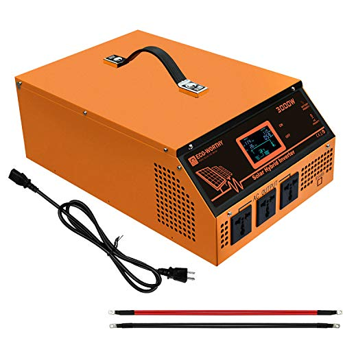 ECO-WORTHY All in one Solar Inverter With Solar Controller For Off-Grid System