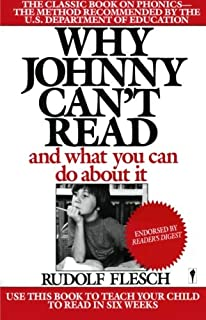 Why Johnny Can't Read: And What You Can Do about It